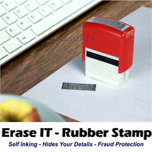 Identity Theft Protection Stamp Privacy Confidential Data Roller Guard Your ID