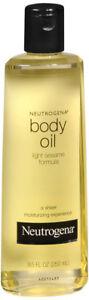 Neutrogena Sesame Body Oil, 8.5oz