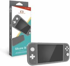 Hyperkin Silicone Skin Console Case for Nintendo Switch Lite - Gray