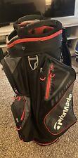 Taylormade 8.0 Cart Golf Bag - Black/red/white