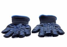 Pair of Heat Resistant Silicone Gloves Kitchen BBQ Oven Cooking Mitts