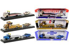 Auto Haulers Set of 3 Trucks Release 37 Diecast 1:64 Model M2 Machines 36000-37*