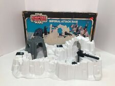Vintage Star Wars Hoth Imperial Attack Base COMPLETE W/ Original Box Kenner 1980