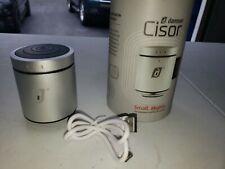 Damson Cisor Portable Travel Wireless Mini Bluetooth Vibration Speaker in Black