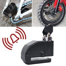 Black Wheel Brake Disc Alarm Lock Fit Ducati Monster 620 695 800 900 S4 1000