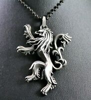 Game of Thrones Lannister Sigil Pendant Necklace w/Free Jewelry Box and Shipping