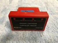 (LotB) Snap-on Scanner MT2500-1393 Chrysler 1983 thru 1993 Primary Cartridge