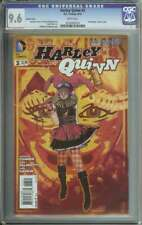 HARLEY QUINN #3 CGC 9.6 WHITE PAGES