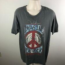 "XL ""Designs Inspired by the Art of John Lennon"" Graphic T-Shirt Imagine"
