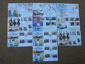 Excellent Collection GB RAF FDCs all signed - all spec HS (10) - rf899