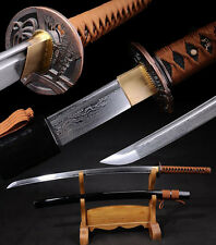 Japanese Samurai Swords High Quality Folding Pattern Steel Katana Sharp Blade-98