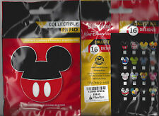 Disney Collectible Pin Pack (Disney Icons) - Contains 5 Random Selected Pins