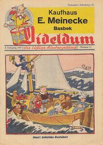 Dideldum Kinderzeitung 8. Jahrgang 6 Hefte 1936 Nr 7-12 Otto Waffenschmied Comic