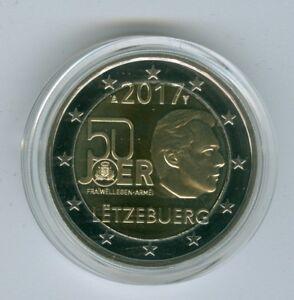 Luxemburg  2 Euro 2017  Freiwilliger Wehrdienst PP  aus KMS  Nur 1.000 Stück!