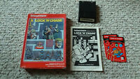 INTELLIVISION LOCK N CHASE INTV RELEASE (WHITE LABEL) BOXED