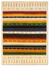 Tapis multicolore pour la maison en 100% laine, taille 170 cm x 240 cm