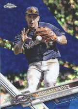 HERNAN PEREZ 2017 TOPPS CHROME SAPPHIRE EDITION #458 ONLY 250 MADE