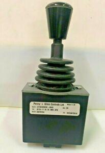 Penny + Giles JC150 JC150-Y-R-M-HKN-STN Single Axis Joystick Controller