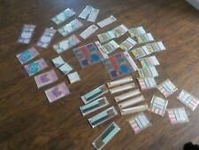 HUGE 43 PC LOT SCHOOL Stationery Memo Sticky Note Paper W/ Erasers Pencils +