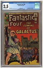 Fantastic Four 48 (CGC 2.5) 1st app. Silver Surfer and Galactus; Kirby (j#6357)