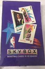 1991-92 Fleer Skybox Series 1 Hobby Basketball Box Factory Sealed 36 Pack