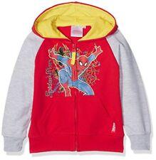 Sweats et vestes à capuche rouge Marvel pour garçon de 2 à 16 ans