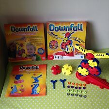 DOWNFALL 2011 Version by HASBRO Games COMPLETE Strategy Fun Key Game 2 Players