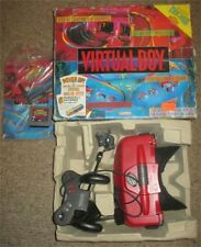Nintendo Virtual Boy Red & Black Console Complete in Box #146