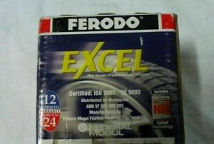 NEW FERODO EXCEL BRAKE PADS DB1191XL - FITS HONDA ACCORD CB, CD= FREE GIFT