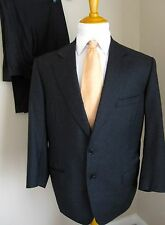 Oxxford Clothes Suit 44R Charcoal Gray Wool Super 150s Pants 33 X 29 Made USA
