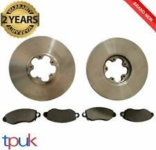 FORD TRANSIT 2.3 PETROL RWD BRAKE PADS DISCS 2000-06 FULL SET