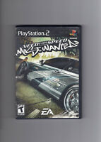 Need For Speed Most Wanted Sony Playstation 2, 2005 PS2 Complete CIB Black Label