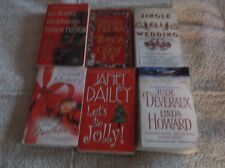Lot of 6 Christmas Romance Stories - Great Authors