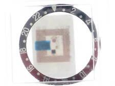 ROLEX GHIERA STEEL BEZEL GMT MASTER RED / BLACK COKE REF. 16700 16710 NEW NUOVA