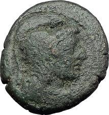 PELLA in MACEDONIA 148BC RARE R1 Ancient Greek Coin ATHENA NIKE CHARIOT i61364