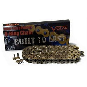 Motorcycle Drive Chain 520-106 Gold for Honda MTX200RW 1983-86