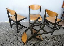 Série de 4 chaises design  - chairs