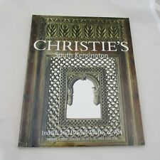 Christie's Auction Catalogue - Indian and Islamic Works of Art 2003