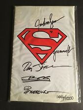 ADVENTURES OF SUPERMAN #500 SIGNED BY 5 ARTISTS COA DYNAMIC FORCES SEALED BAG