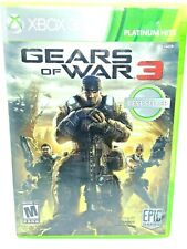 Gears of War 3 Xbox 360 2011 tested works great