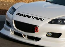 MAZDA SPEED 3 5 6 CX7 RX7 RX8 Mazdaspeed Racing Decal sticker emblem logo BLACK