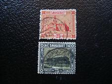 SARRE(allemagne) - timbre - yt n° 90 96  obl (A6) stamp germany