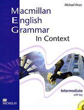 Macmillan ENGLISH GRAMMAR IN CONTEXT Intermediate w Key+CD-ROM by M.Vince  @NEW@