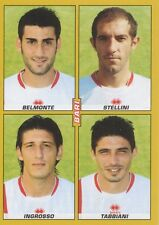 N°503 BELMONTE STELLINI # AS.BARI STICKER FIGURINA PANINI CALCIATORI 2008
