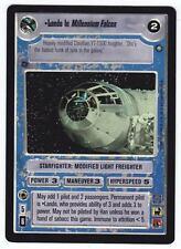 SWCCG Star Wars CCG • Lando in Millenium Falcon • Enhanced Cloud City FOIL RARE