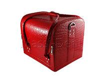 Beauty case Kosmetikkoffer, Multikoffer, Schminkkoffer Nagelstudio set Rot