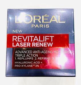 L'Oreal Revitalift Laser Erneuerung Advanced Anti Ageing Tagescreme 50ml Triple