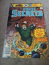 House of Secrets #142 (Oct, Nov 1976 DC COMICS) BRONZE AGE Horror Anthology