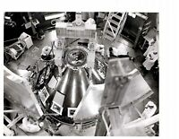 Vintage NASA Press Photo Command Module Altitude Chamber June 11, 1968 V01