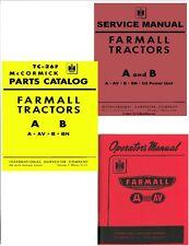 COMBO 1939-47 Farmall A AV B BN Tractor Operator/Service/Parts Manual coil